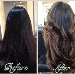 From Virgin Hair First Session!