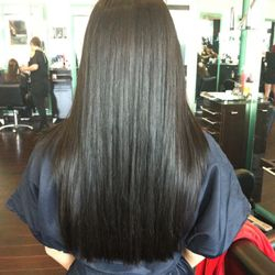 Natural Curls to Sleek