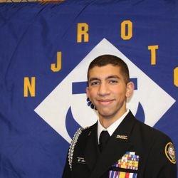 Cadet Ensign Mahmoud Abusaid