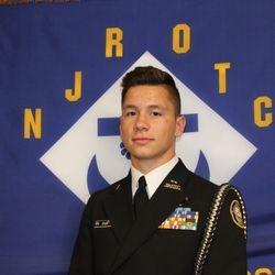 Cadet Ensign Malachi Rock.