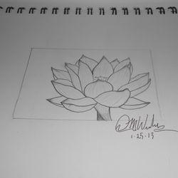 A flower I drew up.