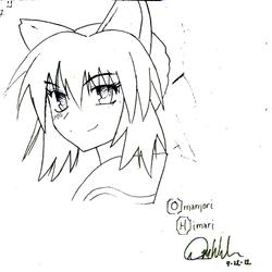 Omamori Himari fan art.