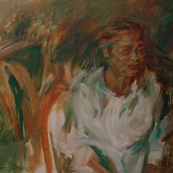 Mother 1 60 x80cm Oil on Canvas