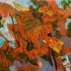 Hammond street in Autumn – Oil on Canvas - 70 x 50cm