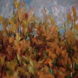 Autumnal Light  Oil on Canvas  100 x 120cm