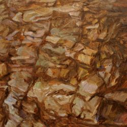 Rock Rythm  60 x 80cm Oil on Canvas SOLD