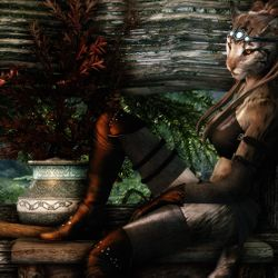 """""""We all have our role in the war, Lord Commander Azkhaban'Ali has requested me personally to raise the moral in the men on our war camps near the front line, and I attend to do my job very very well.Meow!"""" -Ra'Khaleesa --Clan Mother Within the hand of Khajiit"""