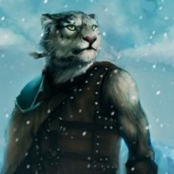 """""""I May be young, But I am as courageous as any other!"""" --Squire within The Hand Of The Khajiit"""