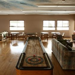 Main lounge and games room