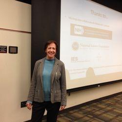 Keynote speaker Dr. Kathy Hirsh-Pasek