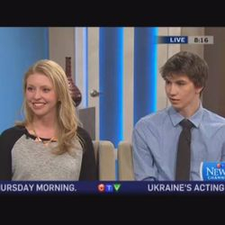 Our International Directors speaking about our upcoming trip to KI on Canada AM