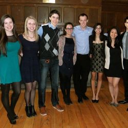 2013-2014 Rotaract Executive!  (Jenna, Annie, Alex, Rebecca, Mitch, Kaitlynn, Lisa, Andrez, missing Jenny)