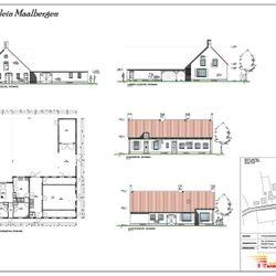 Klein Maalbergen - Aanbouw