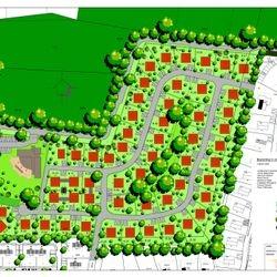 Groenplan Villapark Pagnevaart te Hoeven