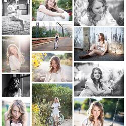 Senior Photos- Hair and Makeup