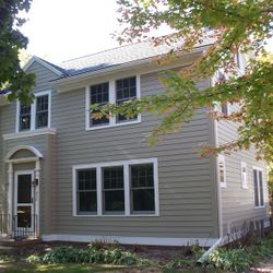 Hardie Cement Fiberboard Siding and Trim