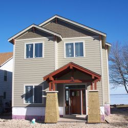 Hardie Cement Fiberboard Siding and Miratec Trim