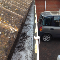 Gutters before.