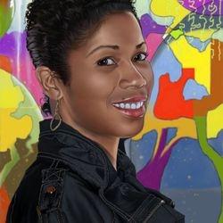 Carla Portrait Digital Painting