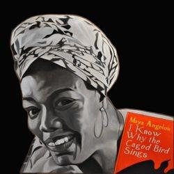 Tribute Maya Acrylic on Wrapped Shape Canvas