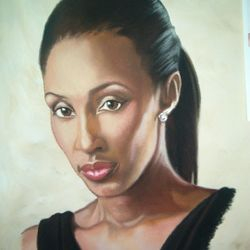 Role Model featured #1 Pastel on Paper