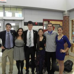 National Honor Society Officers