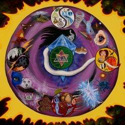 Starr Seed Medicine Wheel Manada for Gayle Crosmaz-Brown Sold