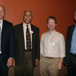 Quantum Biology Conference . Philadelphia . 2014 . Keynote Speakers Dr. John Hagelin, Dr. Thomas Padikal, Clay Stablein and Dr. Peter Hoffman