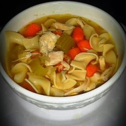 Semi Homemade Chicken Noodle Soup