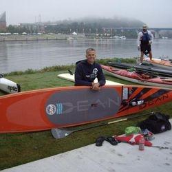 Jason Geiger, SUP elite racer Charlotte, NC