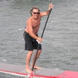 Steve Fisher owner of California Republic Paddleboard rental in Irmo