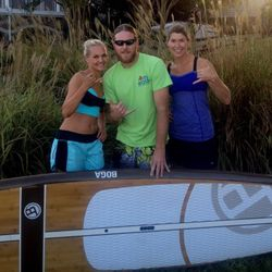 Shane Diggs, SUP elite racer in Charlotte, NC