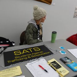 VP Naomi Landecker at the SATS table