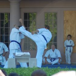 THE HEART OF OUR KARATE IS REAL FIGHTING.