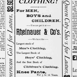 Rheinauer & Brothers Ad