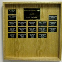 Hall of distinction members