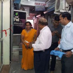 Inauguration of Clinic by Sh Pranab Kr. Ray Dir(T) IPGCL/PPCL