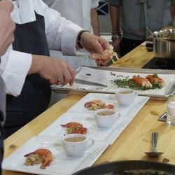 Chef Pascal's dish