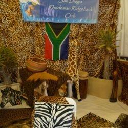2012 Rhodesian Ridgeback Winner Best Decorated Booth Award