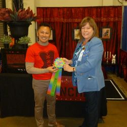 2014 French Bulldog Winner Reserve Best Decorated Booth Award