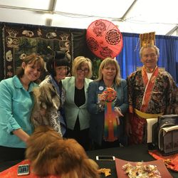 2016 Pekingese Winner Reserve Best Decorated Booth Award
