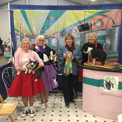 2018 Winner Best Decorated Booth Awarded Boston Terrier