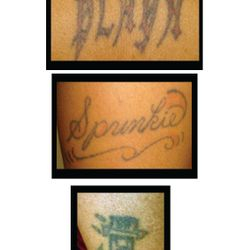 In the book it talks about my tattoo's here are a few.