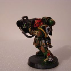 Crimson Guard Chapter of Space Marines (40K Warmammer)