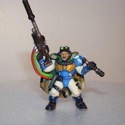 Ultra Marines Scout (40K Warhammer)