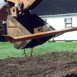 Gradeblade Excavator Squeegee Blade Attachment