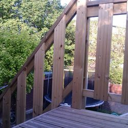 Raised Decking Stairs