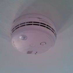 Mains Powered Smoke Detector.