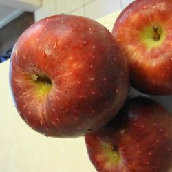Organic apples ready to be made into organic applesauce for baking! Can be used for a healthy substitute for oil!