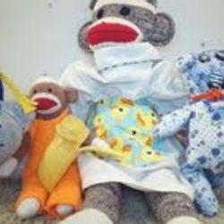 The founders of Sock Monkey Mayhem.
